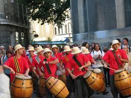 JORNADA DE LAS NACIONES - URUGUAY Candombe