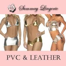 Intimo  2010-New-Sexy-Lingerie-PVC-Bra-Set