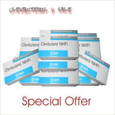 Clenbuterol 10 boxes ( 500