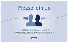 Connect through Facebook or