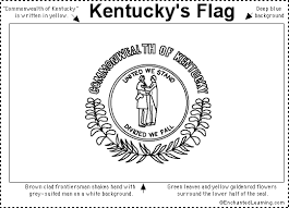Kentuckys official state flag