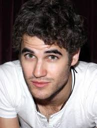 Darren Criss hairy chest white