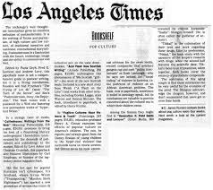 Web in Los Angeles Times.
