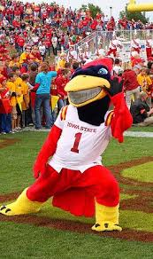 Cy the Iowa State Cyclones