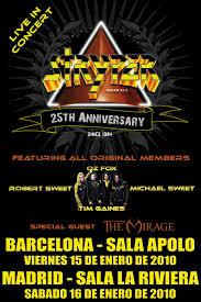 STRYPER en Barcelona   15/10/2010