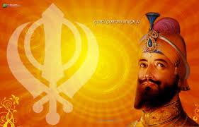Wallpapers Backgrounds - GURU GOBIND SINGH Wallpaper Yellow Brown White Color