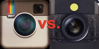 Instagram vs. Hipstamatic