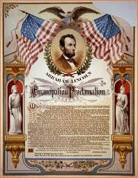 Emancipation Proclamation Up