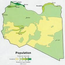 Maps of Libya