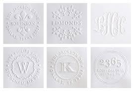 Service for you Custom paper embossing stamp custom made     SEC LINE Temizlik