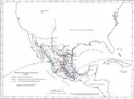 Mexico Map 1800 map of mexico 1862 1867 the french intervention