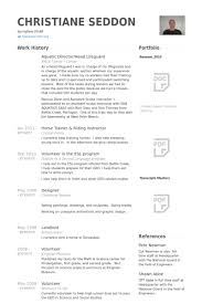 Samples Of Resumes For Highschool Students by Lifeguard Resume Samples Visualcv Resume Samples Database