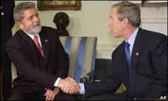 Reunião entre Lula e Bush não traz avanço para temas sensíveis ...
