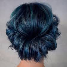 Coloring Ideas 25 eye catching dark blue hair color ideas u2014 mystery in your loc