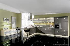 Black Kitchen Designs Photos European Kitchen Cabinets Pictures And Design Ideas