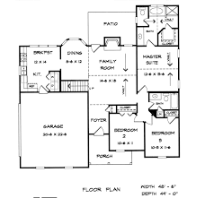 Home Builder Floor Plans by Jordan House Plans Floor Plans Blueprints Architectural Drawings