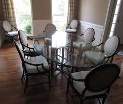 jofran 733 52 urban lodge 6 piece round dining room set w hammary