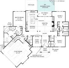 this efficient and low cost craftsman style house plan boasts a