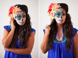 dead makeup halloween how to paint a sugar skull u2026 on your face sugar skull makeup