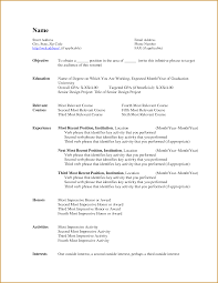 Blank Resume Template Microsoft Word Chef Resume Format Resume Cv Cover Letter