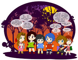 halloween characters clipart halloween costume shenanigans 1 by dragon fangx on deviantart