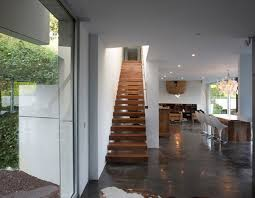 modern house r in anglet france loversiq modern architecture house design picture with contemporary interior by a cero wooden staircase home decor