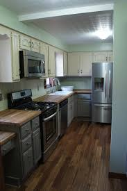 country grey chalk paint kitchen cabinets kitchen