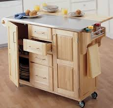 kitchen island on wheels with seating butcher block kitchen table