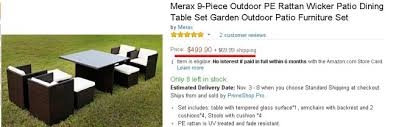 Best Price For Patio Furniture by The Best 3 Patio Furniture Sets Under 500 That I Tried Home Of Art