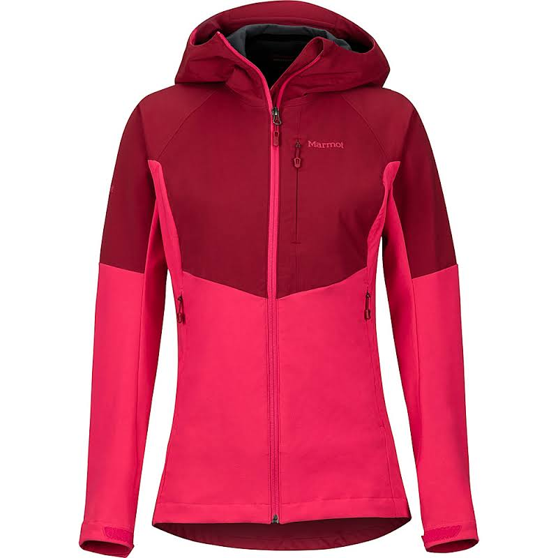 Marmot ROM Jacket Sienna Red/Disco Pink Small 85370-7256-S