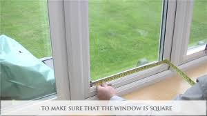 Window Screen Clips Plastic How To Measure And Install Perfect Fit Window Blinds Youtube