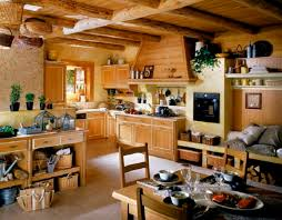 Simple Country Kitchen Designs Wooden Country Kitchen Home Design