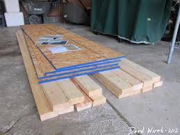 Wood Shelf Plans Free by How To Build A Shelf For The Garage