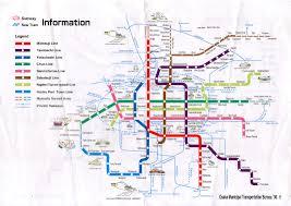 Mta Info Subway Map by Osaka Train And Subway Map My Blog