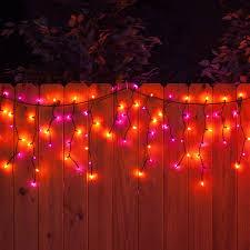 halloween pathway lights 70 m5 halloween led icicle lights purple amber black wire yard