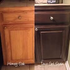 Restaining Kitchen Cabinets 4 Ideas How To Update Oak Wood Cabinets Oak Kitchen Cabinets