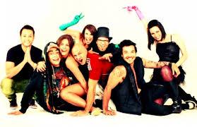 Con Osman Aray, Aileen Celeste, Mayte Folle, Malena Gonzalez, Kent James, Juan Carlos Láres, Laureano Olivares ... - FiestaFindeMundo-647x418