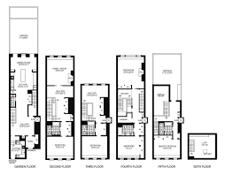 100 3 story townhouse floor plans 100 colonial floor plans