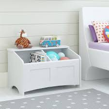 How To Make A Wooden Toy Box With Slide Top by Amazon Com Cosco Cassidy Toy Chest Federal White Kitchen U0026 Dining