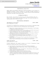 Administrative Assistant Resume Objective Examples by Resume Objective Examples It Support Administrative Assistant
