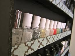 diy nail polish rack crafty me pinterest diy nail polish