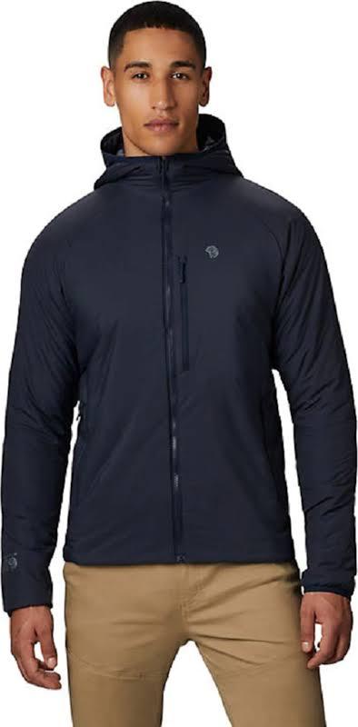 Mountain Hardwear Kor Strata Hooded Jacket Dark Zinc Extra Large 1851471406-XL