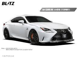 lexus rc uk fensport parts lexus rc front lip spoiler carbon rc200t rc300h