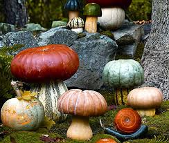Mushroom Home Decor 23 Scary Porch And Patio Halloween Decorations Perfectporchswing Com