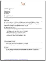resume format doc download simple resume format doc free download