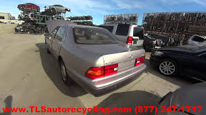 parting out 1998 lexus ls 400 stock 6045br tls auto recycling