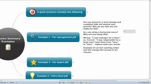 how to write a good resume summary resume summary examples a expert career coach discuss resume resume summary examples a expert career coach discuss resume summary exampless youtube