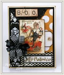 vintage inspired halloween cards polly u0027s paper studio