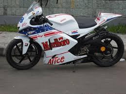Modifikasi Motor Honda Mega Pro Sporty Gp Style
