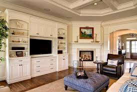Simple Traditional Living Room Wall Units Cabinet  On Design Ideas - Family room wall units